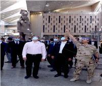 صور | الحكومة: انتهاء الأعمال الهندسية للمتحف الكبير بنسبة تتجاوز 97%