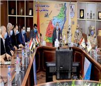 انتخابات نواب 2020| محافظ بني سويف يؤكد على انتظام أعمال التصويت