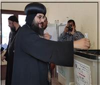 انتخابات النواب 2020| أسقف البحر الأحمر ومدير المنطقة الأزهرية يصوتان
