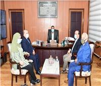 محافظ الدقهلية يقرر عرض مديرة مدرسة عمر مكرم بدكرنس على لجنة قيادات التعليم