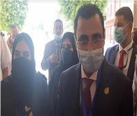 انتخابات النواب 2020| فيديو.. رئيس البرلمان العربي يزور اللجان