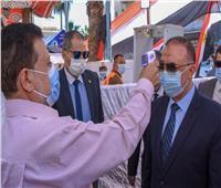 انتخابات النواب 2020| تنفيذ 9 إجراءات احترازية في لجان الإسكندرية