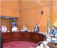 انتخابات النواب 2020| صور.. محافظ الإسماعيلية يستعرض تطبيق الإجراءات الاحترازية