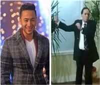 بالفيديو| حمادة هلال يروج لأغنية جديدة برقصة لـ«عادل إمام»