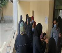انتخابات النواب 2020| السيدات تتصدرن المشهد فى لجان أبو النمرس.. فيديو