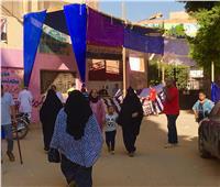 انتخابات نواب 2020  استمرار توافد سيدات الهرم إلى المقار الانتخابية للإدلاء بأصواتهن