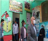 نائب محافظ الجيزة يتفقد لجان انتخابات مجلس النواب بأوسيم