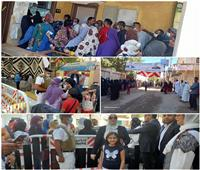 «إنزلي صوتك هيفرق».. مشاركة واسعة للنساء في اليوم الأول للانتخابات