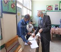 انتخابات النواب 2020 | محافظ الجيزة يدلى بصوته بمدرسة أم الأبطال الثانوية