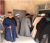 مناوشات بين أنصار المرشحين أمام اللجان وتعزيزات أمنية بسوهاج