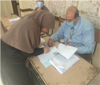 انتظام عملية التصويت بانتخابات مجلس النواب بالصف
