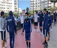 جولة مشي حرة بالرباط لـ«لاعبي بيراميدز» قبل مباراة النهائي