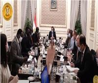 شاهد.. لقاء رئيس الوزراء بوزير الري بجمهورية جنوب السودان