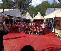 لتوعية الزوار.. الهلال الأحمر المصري يشارك بمعرض المنصورة للكتاب