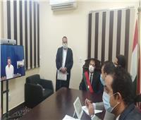 تفعيل منظومة تجديد حبس المتهمين عن بُعدبمحكمة شمال القاهرة