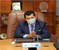 وزير الرياضة يجتمع بلجان تفتيش الوزارة.. ويصدر قراراً هاماً
