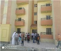 تسليم الدفعة الأولى من الوحدات السكنية للمنقولين من الشيخ زويد ورفح