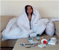 أسماء جلال: أصبت بكورونا بعد مصافحة صديق لى حامل للفيروس