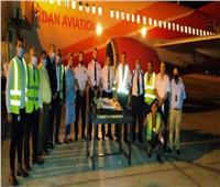 مطار سوهاج يستقبل أولى رحلات الخطوط الجوية الأردنية