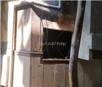 صور..شهود عيان يكشفون أسباب حريق معهد صقر قريش الأزهري
