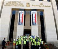 وزير البترول يتفقد المقر الجديد للوزارة بالعاصمة الإدارية الجديدة
