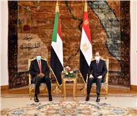 صور وفيديو  الرئيس السيسي: موقف مصر ثابت من دعم أمن واستقرار السوادن