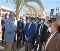 محافظ المنيا يتفقد العمل بأربع مشروعات قومية في سمالوط