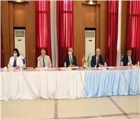 رئيس جامعة المنوفية يعقد الجلسة الشهرية لمجلس الجامعة