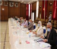مجلس جامعة المنوفية يعتمد نتيجة الإدارات الفائزة بجائزة التميز البيئى