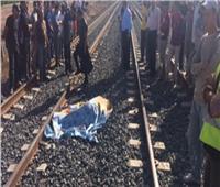 مصرع شاب أسفل عجلات القطار في بني سويف