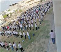 صور | وزير التعليم يوجه الشكر لمدير مدرسة التزم بإجراءات مواجهة كورونا