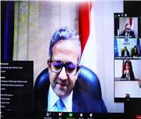 «العناني» يشارك في اجتماع لجنة أزمة السياحة العالمية