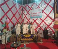 مؤسسة عيد الأم بأسوان تحتفل بمناسبة المولد النبوي