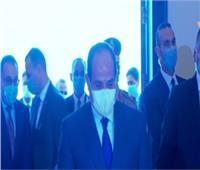 الرئيس السيسي يصل مقر احتفالية وزارة الأوقاف بالمولد النبوي الشريف