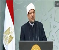 فيديو| رسالة من وزير الأوقاف للرئيس السيسي بالمولد النبوي الشريف