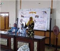 أنشطة وورش عمل للطلاب بالأسبوع الثقافي الثامن بـ«تربية نوعية المنوفية»