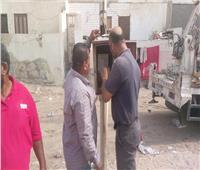 صور| انطلاق حملة «نور ونظف» بمدينة المستقبل بالإسماعيلية