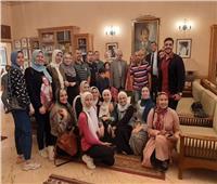 زيارة ميدانية لطلاب علوم المنوفية لمتحفي السادات ودنشواي
