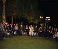 «صالون المحور» يحتفل بالمولد النبوى بحضور مفتى الديار المصرية وعلى جمعة وحسن راتب