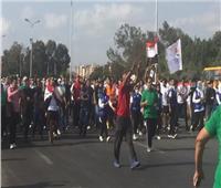 انطلاق الماراثون الرياضي في الإسماعيلية