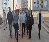 صور.. قيادات الإسكان يتفقدون سير العمل بمشروعات مدينة بدر
