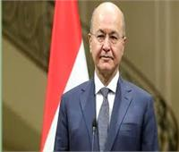«الرئيس العراقي» يؤكد على ضرورة استكمال النصر على الإرهاب