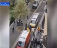 شاهد| اللقطات الأولى للهجوم الإرهابي على كنيسة في فرنسا وذبح مواطنين