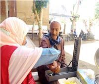 فحص 578 ألف مواطن ضمن مبادرة 100 مليون صحة بالمنيا
