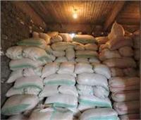 ضبط 39 طن أرز تموينى «فاسد» فى «بنى سويف»