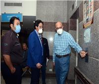 رئيس جامعة طنطا يتفقد المستشفى التعليمي العالمي