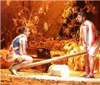 صور | عرض مسرحية «السقوط شيء حتمي» بالهناجر