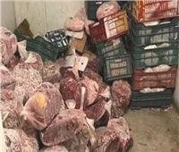 ضبط 2٫5 طن من اللحوم المستوردة مجهولة المصدر