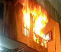 حريق يلتهم شقة سكنية بالكامل في عين شمس