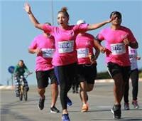 «الإسكندرية» ماراثون رياضي بمناسبة شهر التوعية بمرض سرطان الثدي